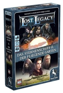 Lost Legacy - Spieleschachtel