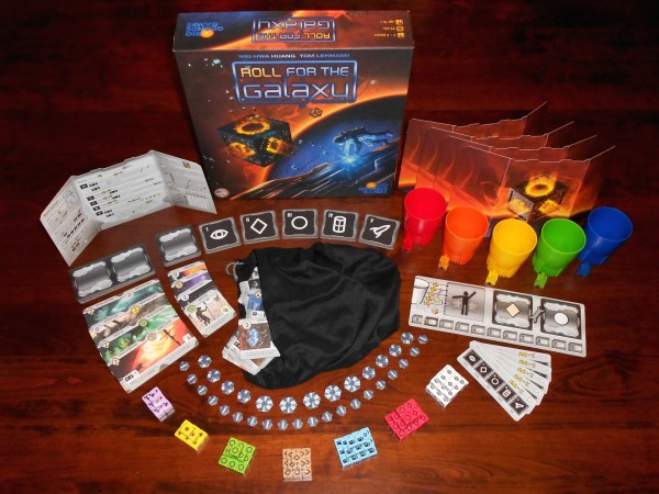 Roll for the Galaxy - Spielmaterial