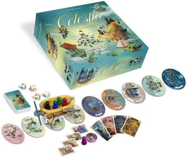 Celestia - Spielmaterial