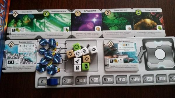 Roll for the Galaxy - Spielertablau