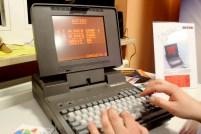 Eines der Lieblingsspiele meiner Kindheit auf ungewöhnlicher Hardware: Xenon 2 auf einem Victor Laptop.