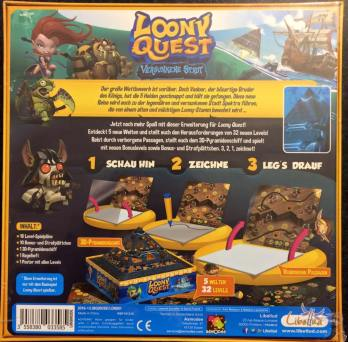 Loony Quest back