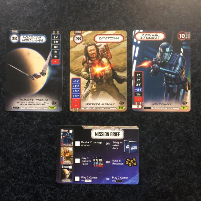 Star Wars Destiny Preview Event