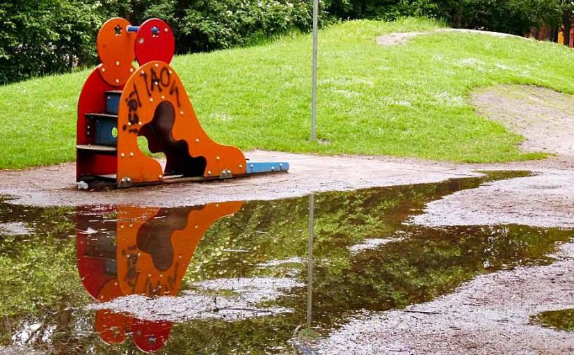 Platz unter – Regenspielplatz voraus