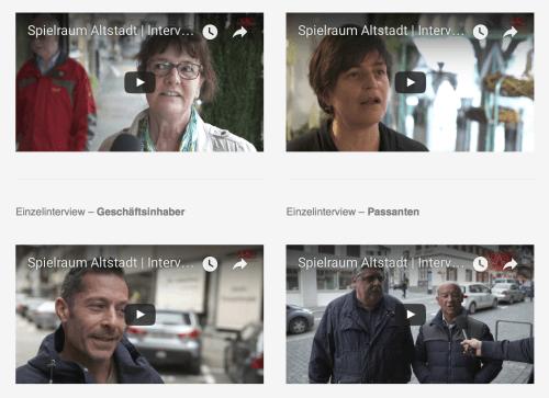 Strassenumfrage in Altstätten | Einzelinterviews sind online