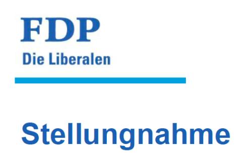 Stellungnahme FDP Altstätten (Lange Version)