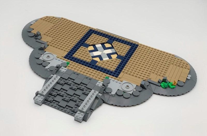 Lego Schloss Bauschritt 1