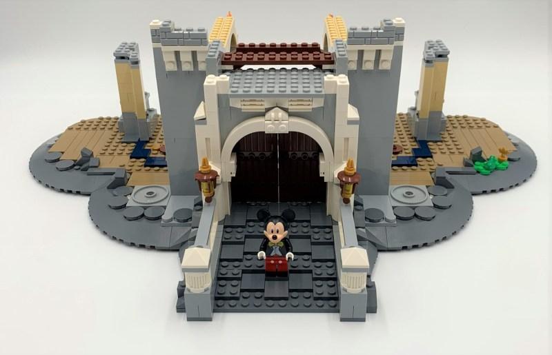 Lego Schloss Bauschritt 3
