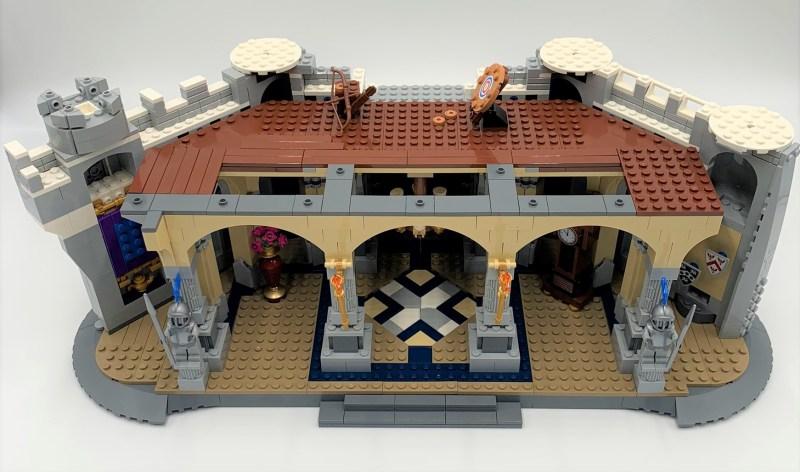 Lego Schloss Bauschritt 6