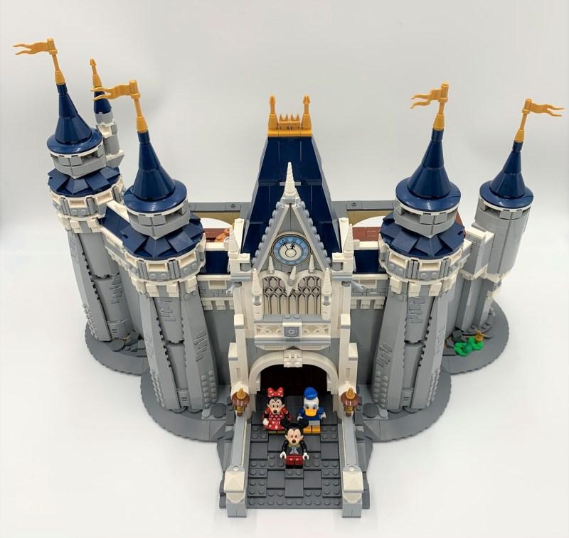 Lego Schloss Bauschritt 9