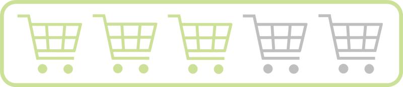 Shopping Guide Bewertung 3/5
