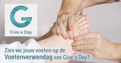 tribe-loading Voeten Verwendag Give a Day Kortrijk