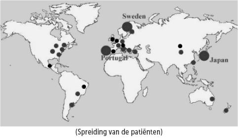 Spreiding-patienten Terugbetaling van 'tafamidis' voor familiale Transthyretine-amyloïde polyneuropathie (TTR-FAP)