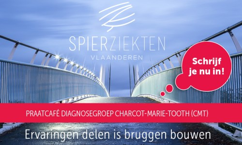 tribe-loading Uitnodiging praatcafé diagnosegroep Charcot-Marie-Tooth (CMT)