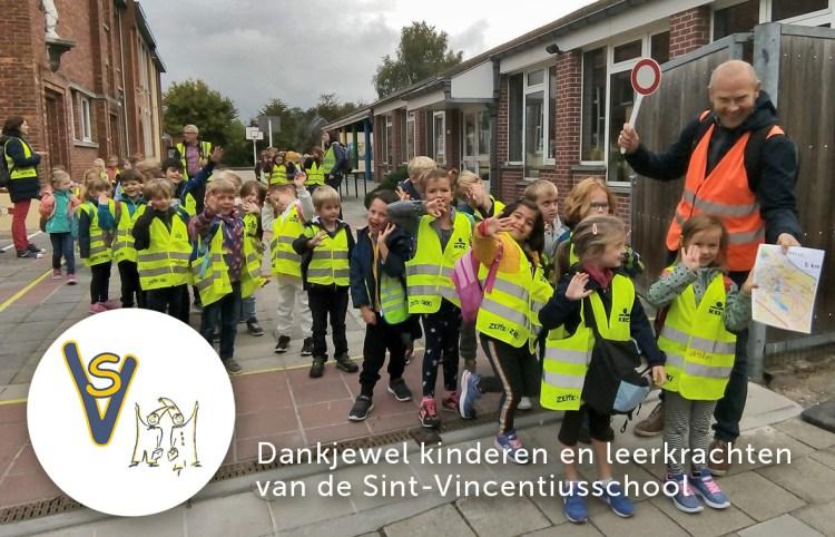 svsmelle_Sponsortocht Sponsortocht Sint-Vincentiusschool Melle