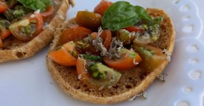 ricetta friselle con pomodoro e tartufo