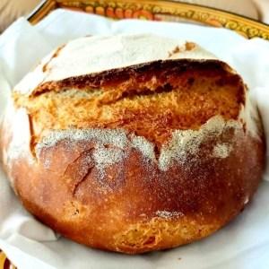 Pane con Lievito Madre e Grano Saragolla