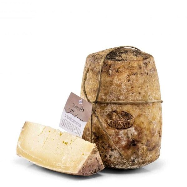 formaggio stagionato in grotta di tufo