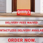 Picture of steps to a house with Denny's options