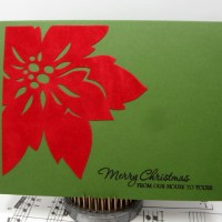 Easy Peasy Christmas Cards #1