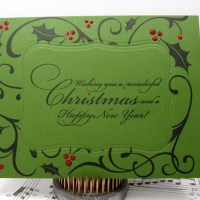 Easy Peasy Christmas Cards #3