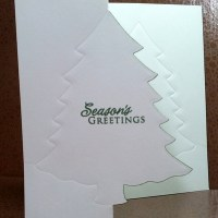 Easy Peasy Christmas Cards #28 ~ Seasons Greetings