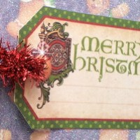 Easy Peasy Christmas Cards #29 ~ A Graphic 45 Merry Christmas