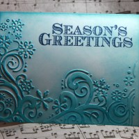 Easy Peasy Christmas Cards #37 ~ Season's Greetings