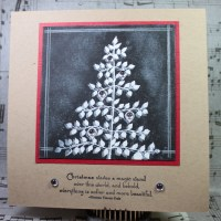 Easy Peasy Christmas Cards 43 ~ Winter Waves