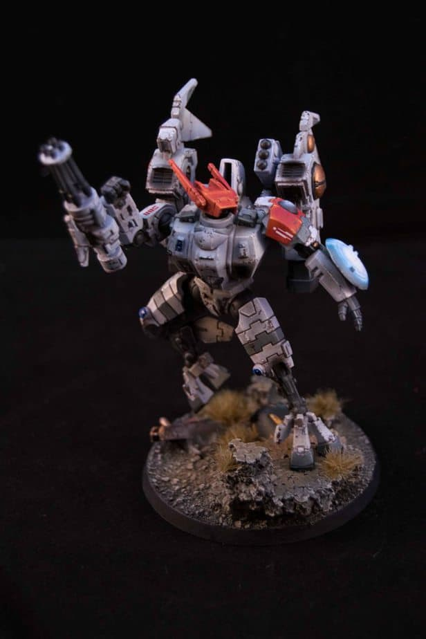 From The Skies Tau Coldstar Commander Army Of One