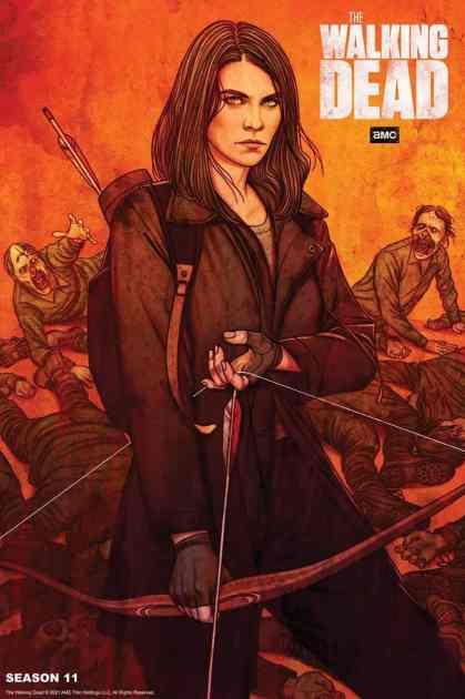 The Walking Dead season 11 episode 2 Art Work