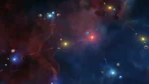 Flere stjerner. Dette er tross alt et romstrategispill.