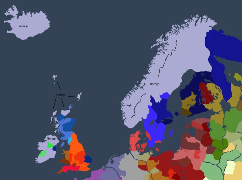 Norgesveldet ved Dyre Is død.