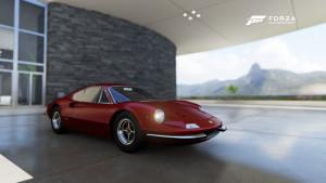 Dette var bilen vi avsluttet med... En lekkerbisken av en Ferrari: Dino 246 GT.