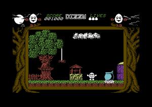 Dizzy for Commodore 64.