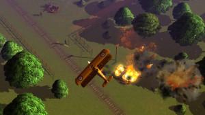 En av sekvensene i spillet.