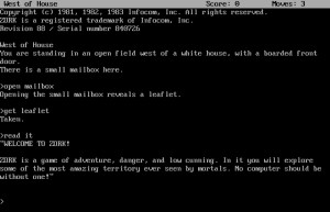 Infocom-spillene, slik som Zork, kjørte på alt fra Commodore 64 til IBM PC, takket være et smart system der selve spillkoden var lik for alle plattformene.