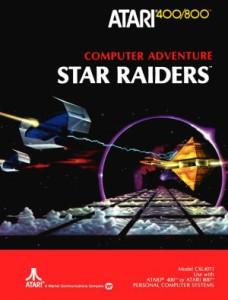 Manual-coveret til Star Raiders.