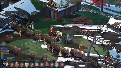 I likhet med originalen får også dette spillet taktisk, turbasert kamp.