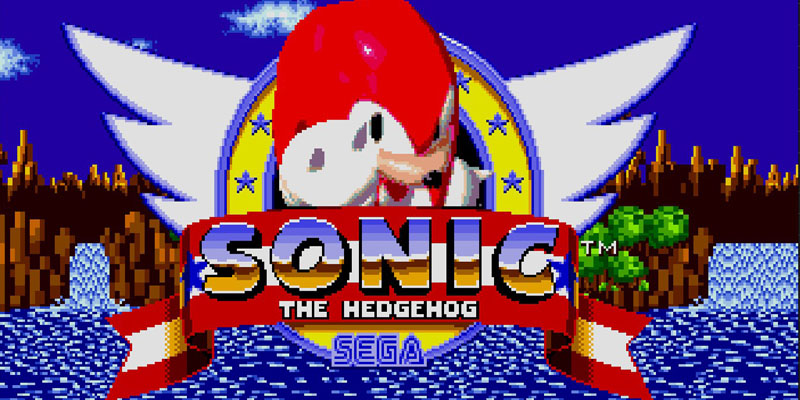 Knuckles i Sonic