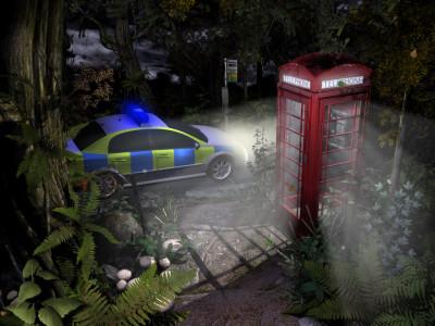 Føler meg tryggere nå som både politiet og Dr. Who har ankommet.