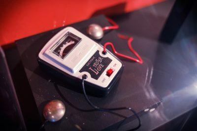 Nintendos Love Tester. Bilde: Kristian Foshaug.