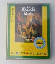 The Bard's Tale på kassett. Ikke den kuleste versjonen, men fascinerende likevel.