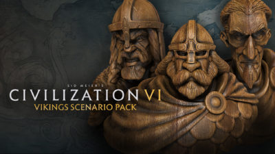 I viking-scenariet kan du spille som en av tre vikingkonger.