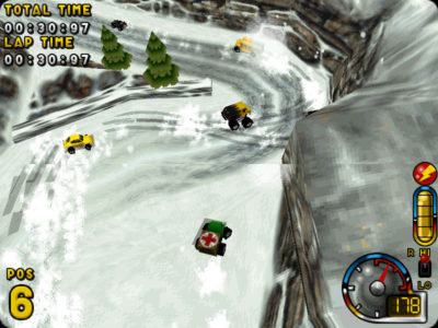 3D-grafikk fra 1997.