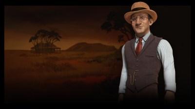 Den australske lederen John Curtin.
