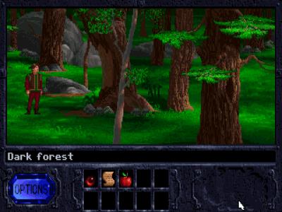 Skogene er vakre, men du blir lei av dem.