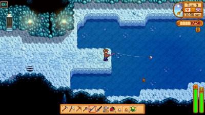 Dette nivået har bare et svært vann. Men det er nyttig likevel!