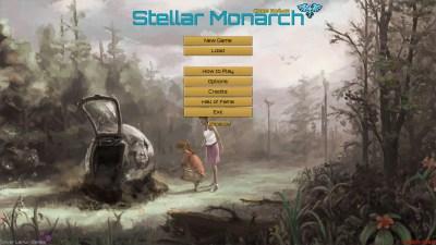 Stellar Monarch er designet og programmert av Chris Koźmik og totalt er fem personer kreditert – dette er virkelig et indie-spill laget med begrensede ressurser.