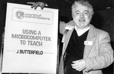 Butterfield holdt flere foredrag. Bilde: Toronto PET User's Group.